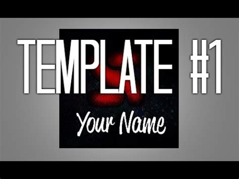 template 1 youtube avatar template 2014 photoshop cs6