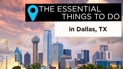 Essential     Dallas Texas Youtube