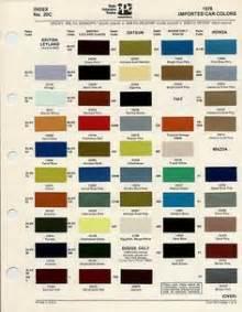 magnesium color bmc leyland paint code chips 1970 1972