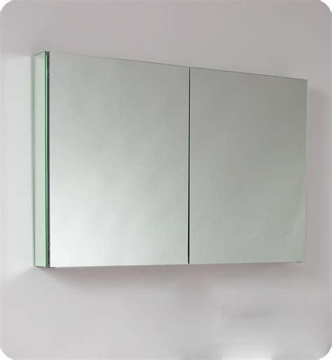 Fresca 40 inch Wide Bathroom Medicine Cabinet with Mirrors