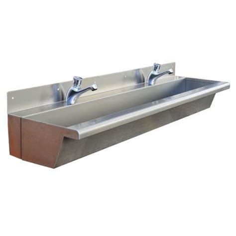 stainless steel trough sink compact wash troughs stainless steel narrow trough sink