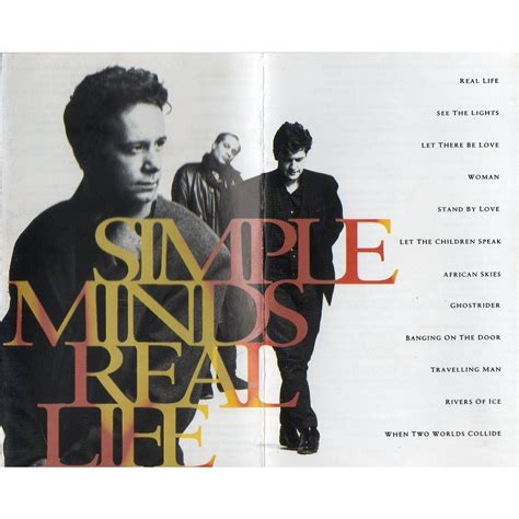Cd Simple Minds Real real by simple minds with makartrecords ref 116197553