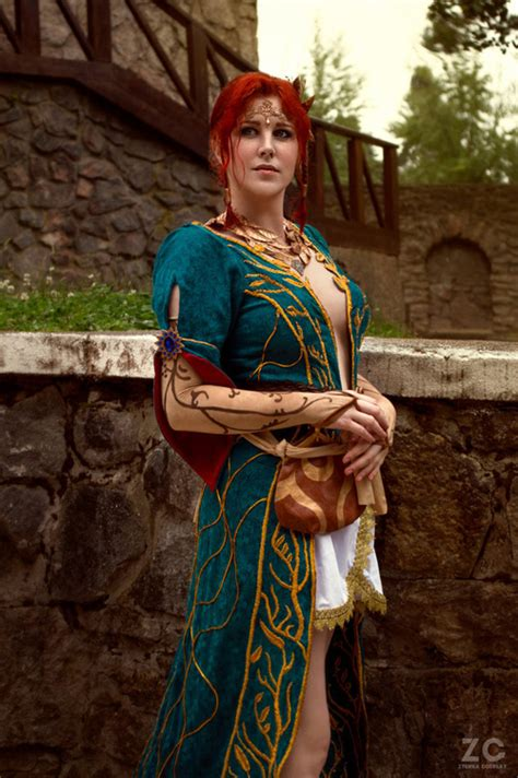 Triss Merigold from The Witcher 3 Cosplay X 23 Cosplay