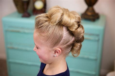easy hair styles for dances flower bun hawk hairstyles for dance cute girls hairstyles