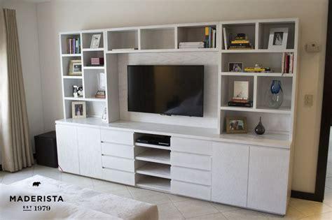 librero y tele mueble de tv para recamara by maderista muebles by