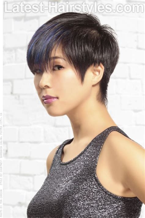 old shool short shag hairstyle on pinterest classic short hairstyle with pointed sideburns beautiful