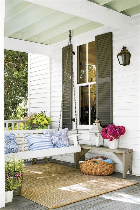 home design story romantic swing 25 best ideas about southern porches on pinterest