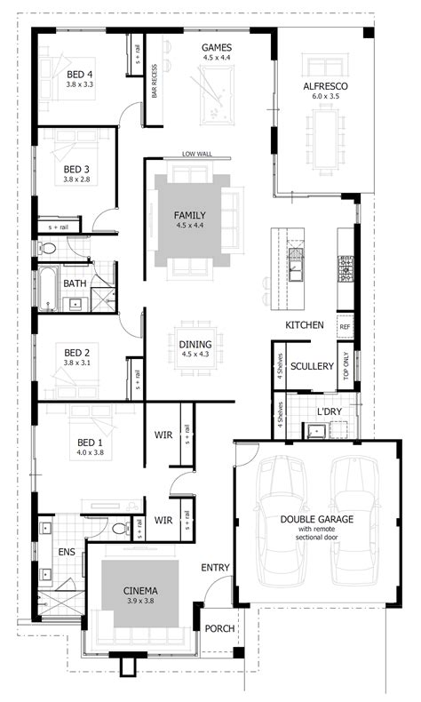 home floor plan designer 4 bedroom house plans home designs celebration homes