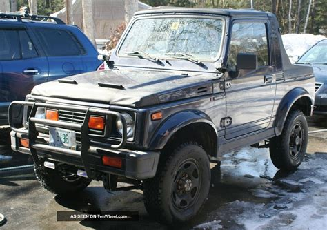 Lift Kit For Suzuki Sidekick 1994 Suzuki Samurai 2 Sport Top Oem Soft Top