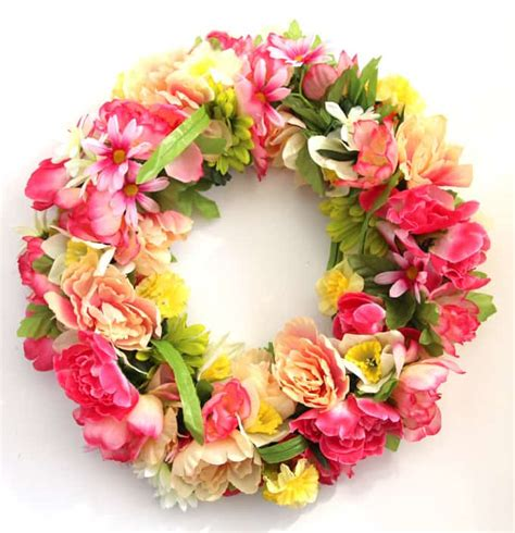 Tulip Wall Stickers make a 344 flower wreath for 15 a piece of rainbow