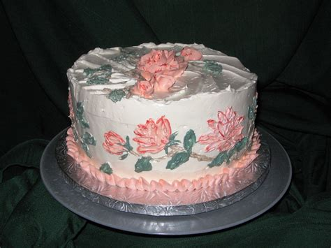 buttercream paint buttercream painting cake hand painted with swiss