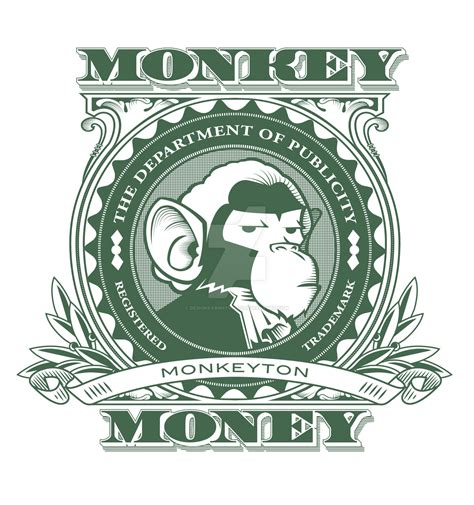 design logo and earn money monkey money logo clean by designfarmstudios on deviantart