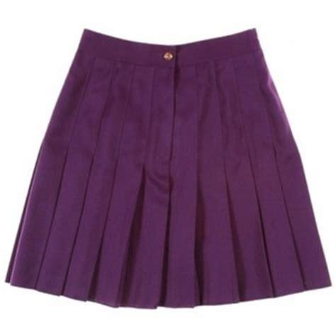 purple pleated skirt polyvore