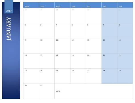 january 2017 calendar 2017 january calendar