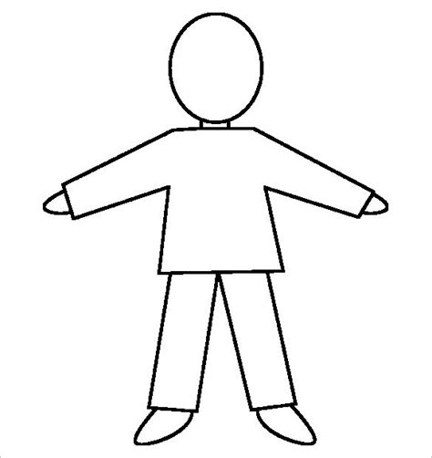 Human Form Outline Free by 28 Outline Templates Free Pdf Formats Creative Template