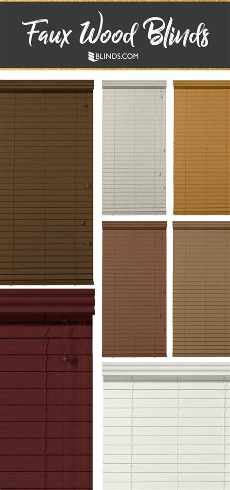 137 best faux wood blinds images on buy