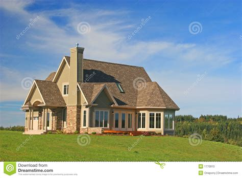 a home brand new house stock photo image of abode dwelling