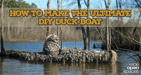 layout boat camouflage making the diy duck boat of your dreams pics