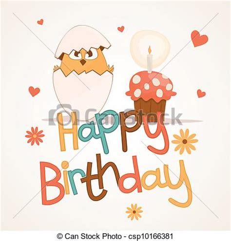 imagenes de feliz cumpleaños amiga embarazada vector de lindo cumplea 241 os tarjeta feliz postal