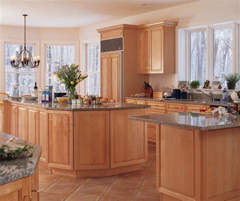 Light Maple Kitchen Light Maple Cabinets In Kitchen Kitchen Craft Cabinetry