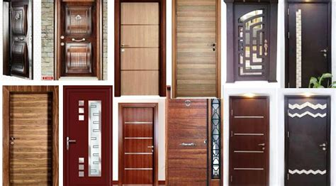 the modern interior solid wood door designs homes in