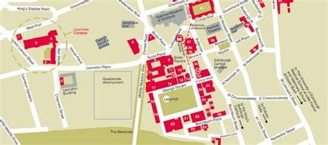 Mba Schools Maps by Cus Maps The Of Edinburgh