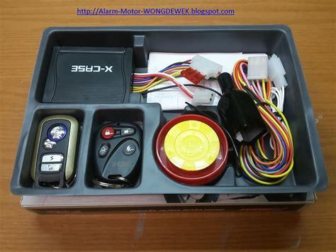 Alarm Motor alarm motor tangerang wong dewek jual dan pasang alarm