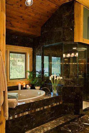 log cabin bathrooms modern meets rustic badewannen