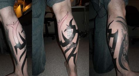 full leg tribal tattoos tribal leg sleeve