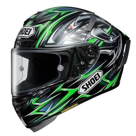 Helm Shoei X Fourteen Jual Helm Shoei X Fourteen Yanagawa 5 Tc 4 Green Black