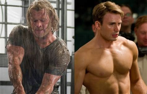 chris hemsworth on captain america movie where was the hot or not the avengers edition part 1 chris hemsworth
