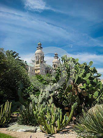giardino botanico montecarlo giardino botanico a monte carlo fotografia stock