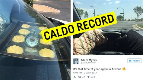 Records In Arizona Record Caldo In Arizona Superati 47 176 Gradi Fotografia Moderna