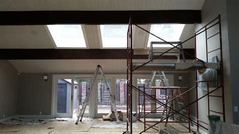 painting ceiling beams high ceiling painting beams painting beams faux