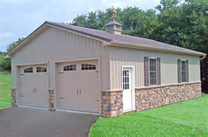 pole building garages garage builders in pa