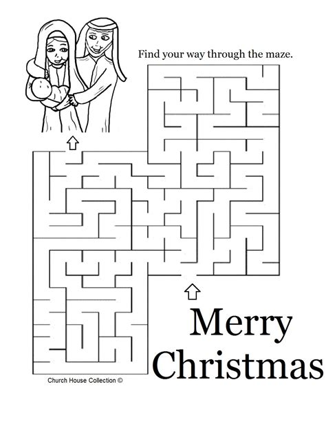 printable nativity puzzle christmas coloring mazes nativity maze puzzle grig3 org
