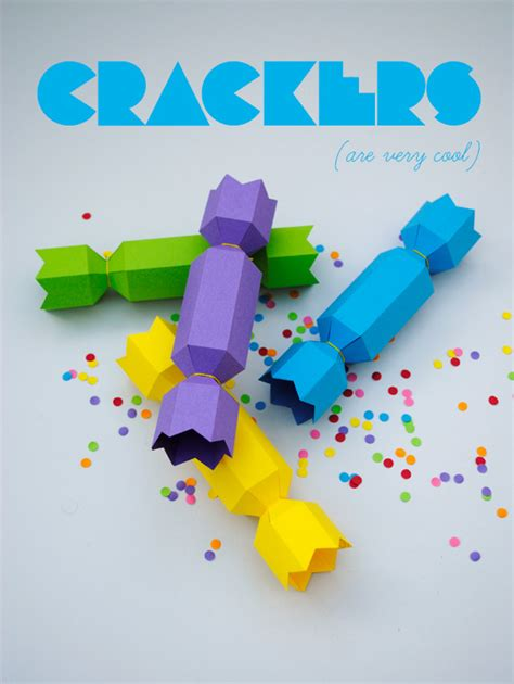 How To Make A Cracker Out Of Paper - make a paper cracker diy craft room