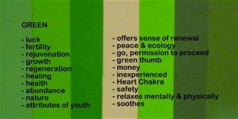 in the green meaning surroundings green color in life the real meaning of