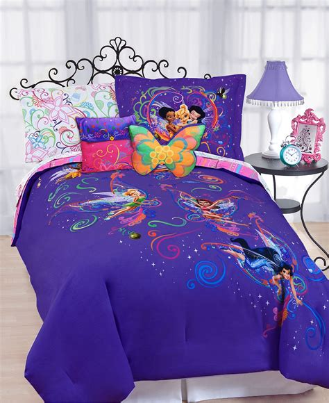 disney full comforter sets disney bedding surreal garden disney tinkerbell comforter