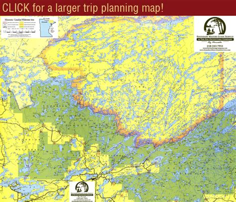 map for trip planning bwca trip planning canoe routes maps entry points
