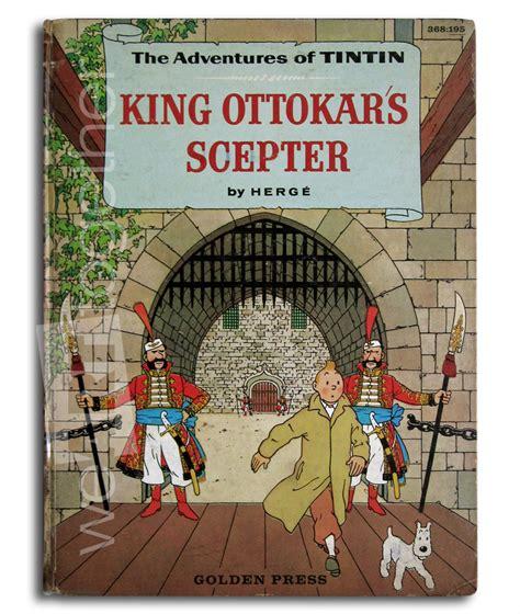 Kaos Tintin King Ottokars Sceptre herg tintin king ottokars sceptre golden press american edition 1959 1st us edition