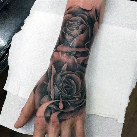 rose tattoo on men for designs ideas and meaning tattoos
