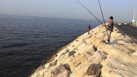 dammam corniche fishing in dammam corniche