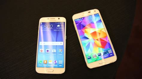 Samsung Galaxy S6 Vs S5 samsung galaxy s6 vs samsung galaxy s5 look