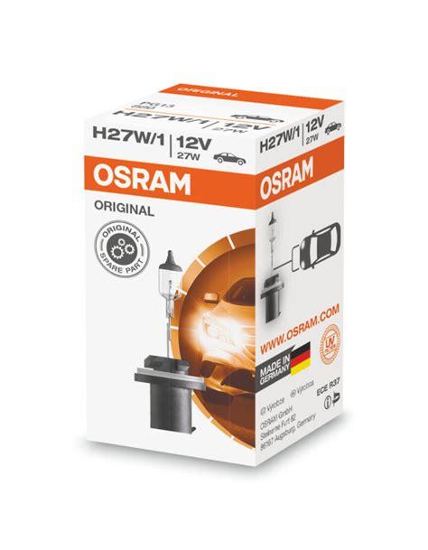 Osram Halogen H1 55w Original Spare Part Bohlam Lu Standar osram original line h27 1w osram automotive