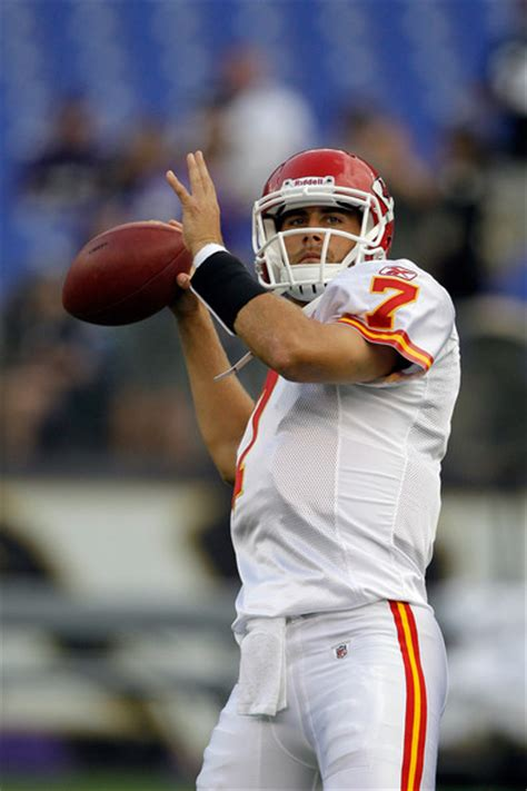 Mat Cassel by Matt Cassel Pictures Kansas City Chiefs V Baltimore