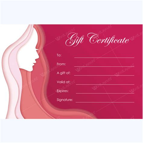 Bring In Clients With Spa Gift Certificate Templates Spa Gift Certificate Template Word