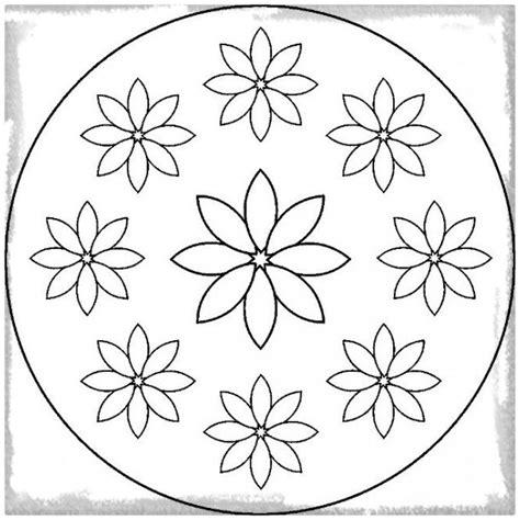 imagenes de mandalas faciles para niños los dibujos de mandalas para imprimir faciles dibujos de