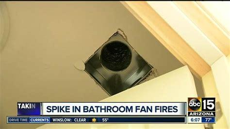 bathroom exhaust fan fires bathroom vents a hidden danger in your home abc15 arizona