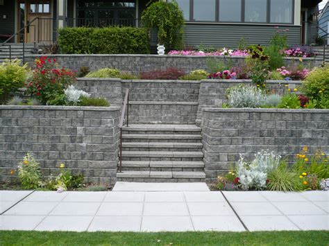Retaining Walls Mutual Materials Retaining Wall Ideas Garden Wall Materials